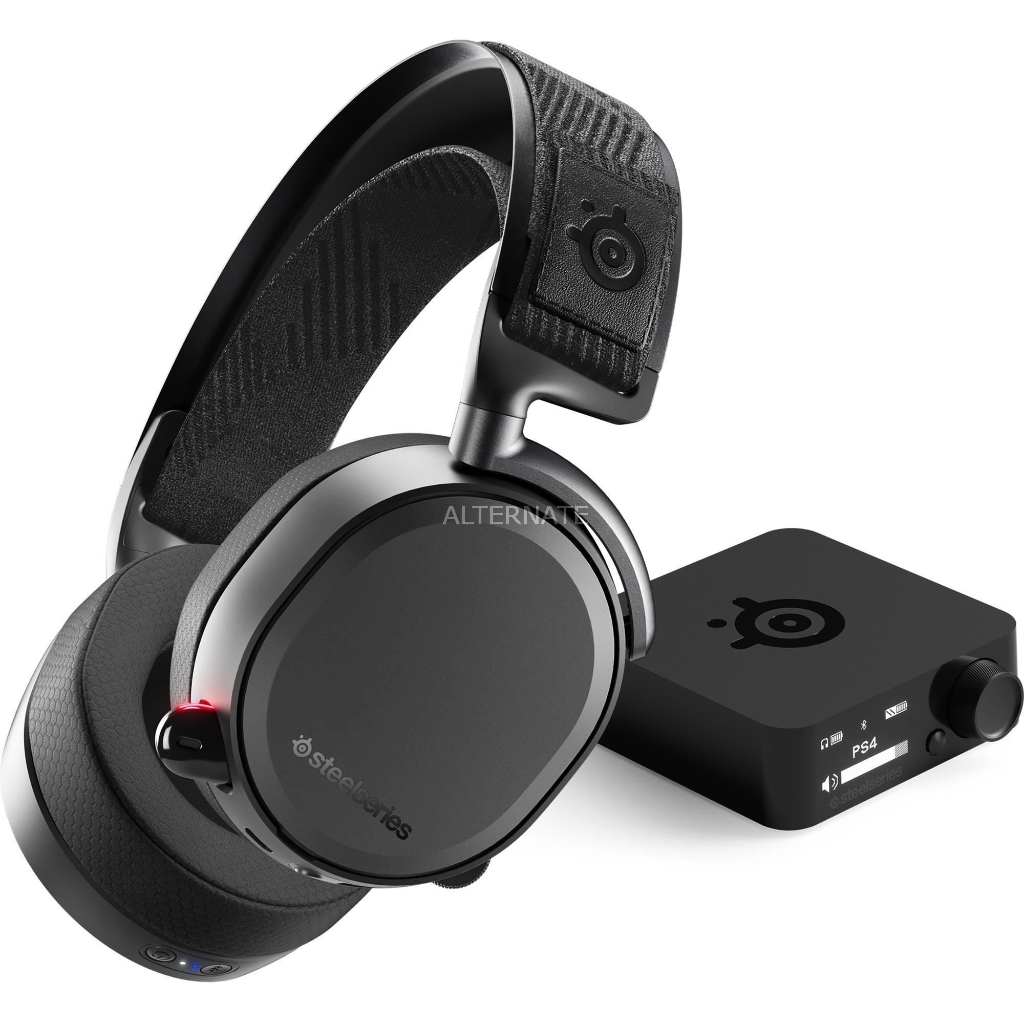 Arctis Pro Wireless auricular con micrófono Diadema Binaural Negro, Auriculares con micrófono