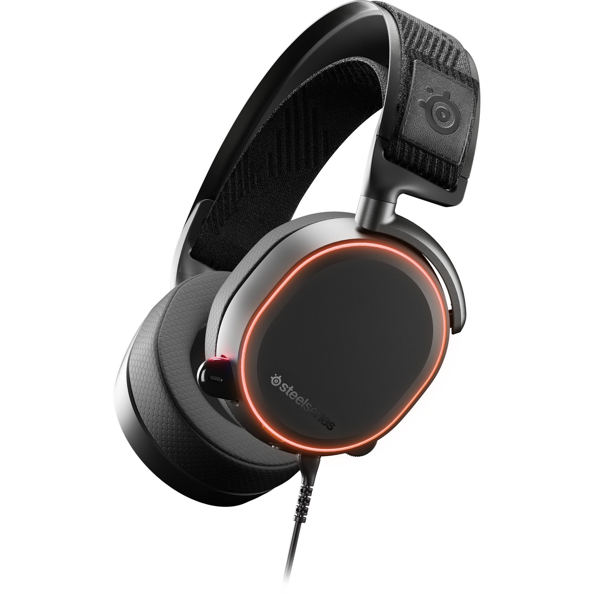 Arctis Pro auricular con micrófono Binaural Diadema Negro, Auriculares con micrófono