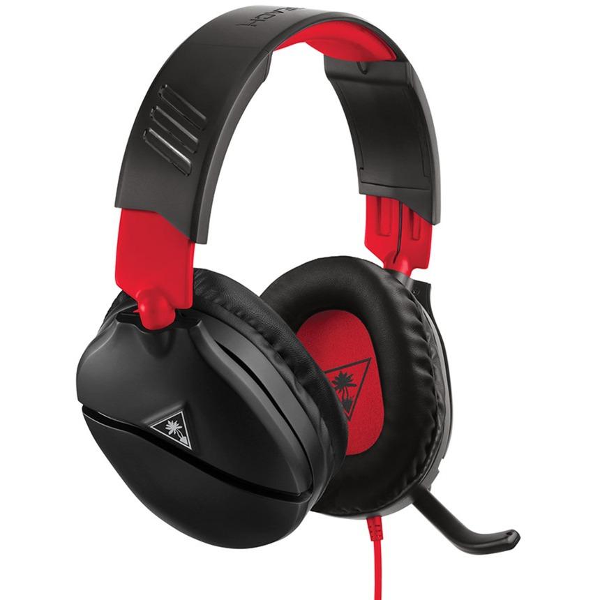 Recon 70 Binaural Diadema Negro, Rojo, Auriculares con micrófono