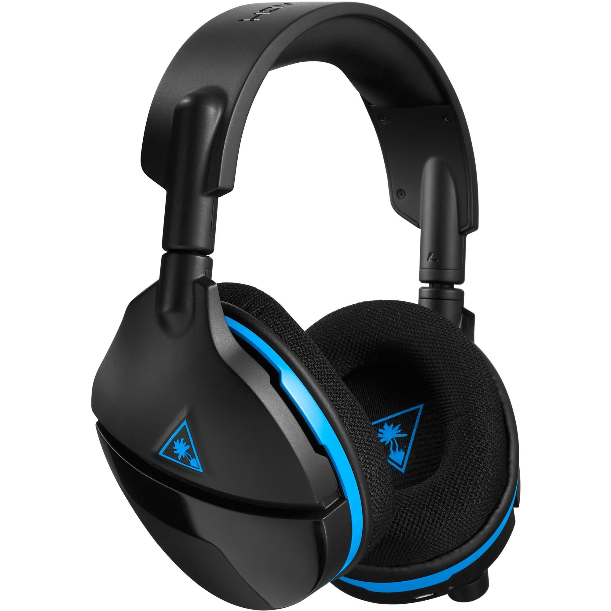 Stealth 600 Binaural Diadema Negro, Azul auricular con micrófono, Auriculares con micrófono