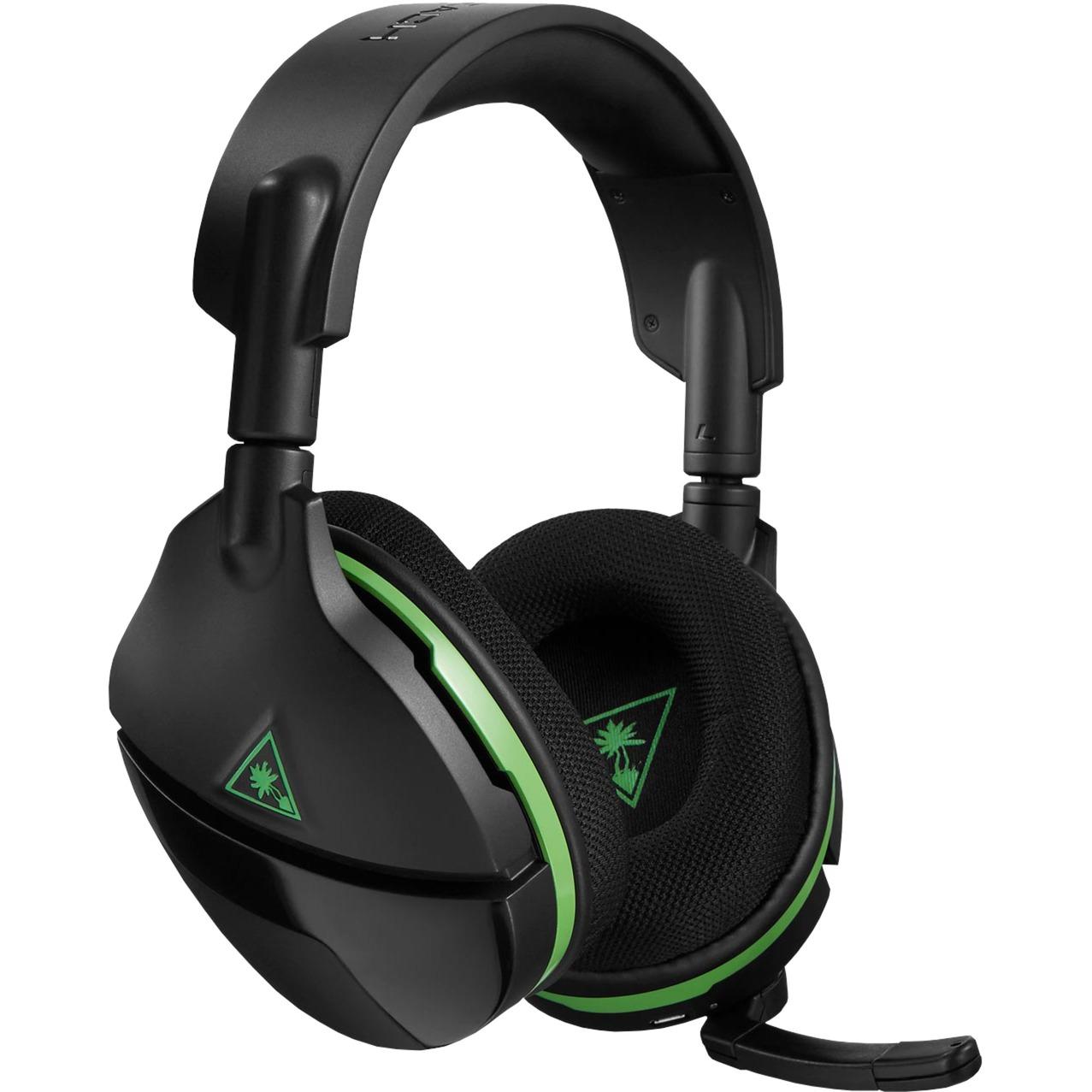 Stealth 600 auricular con micrófono Diadema Binaural Negro, Verde, Auriculares con micrófono