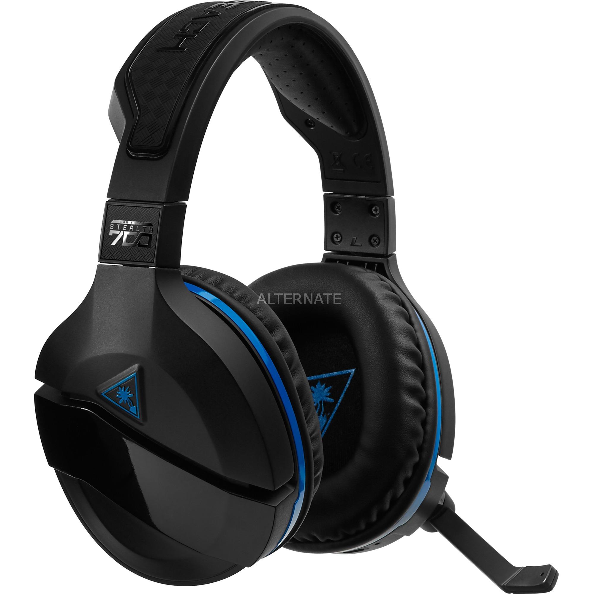 Stealth 700 - PS4 auricular con micrófono Diadema Binaural Negro, Auriculares con micrófono