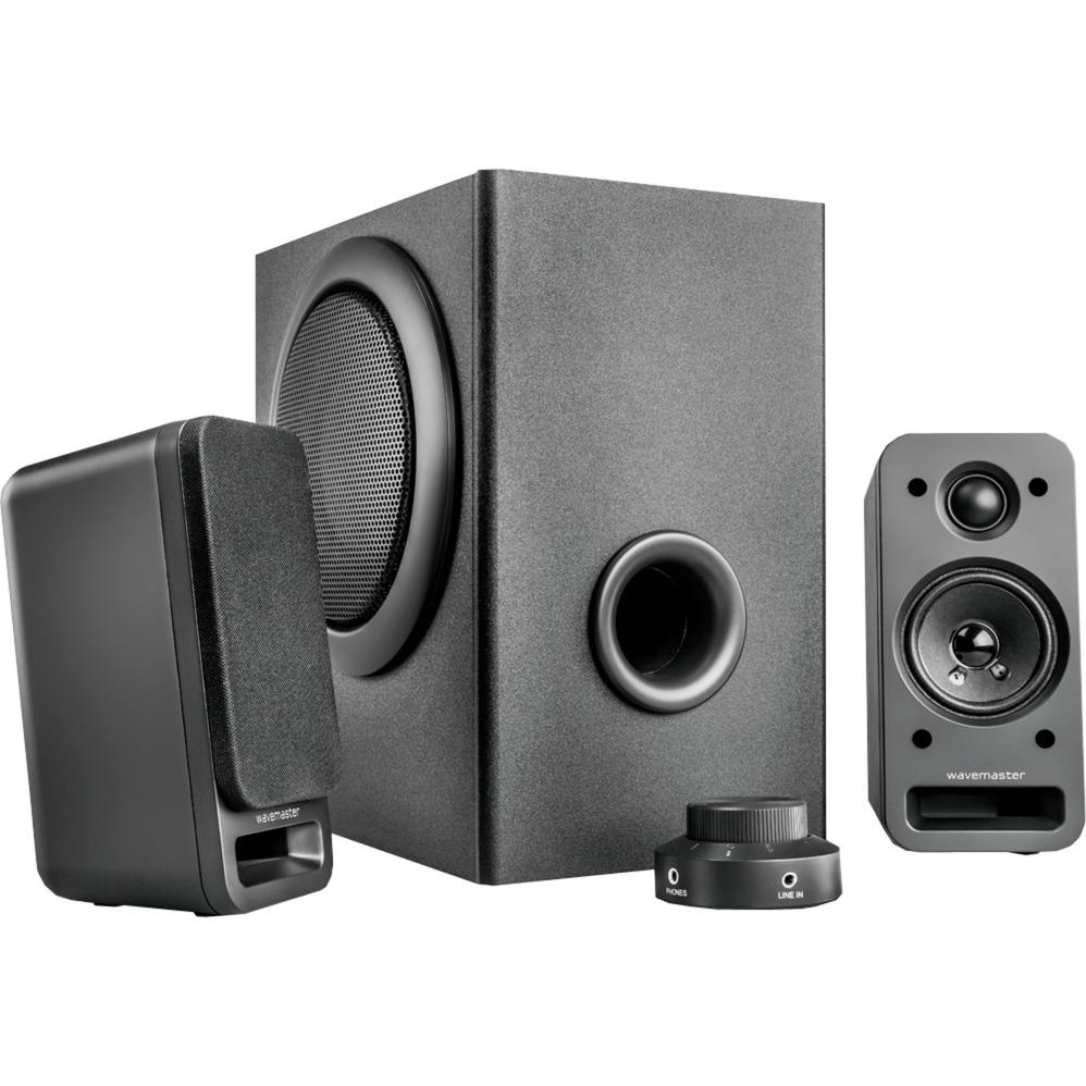 MX 3+ 2.1channels 60W Negro conjunto de altavoces, Altavoz