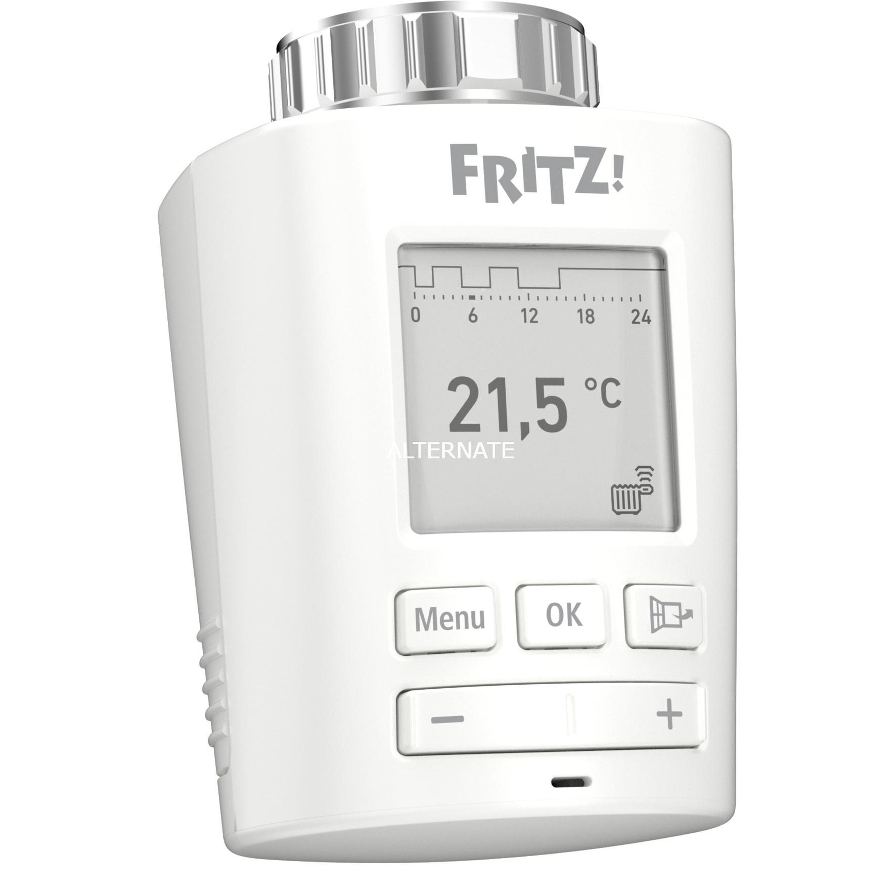 FRITZ!DECT 301 termoestato Blanco, Termostato de la calefacción