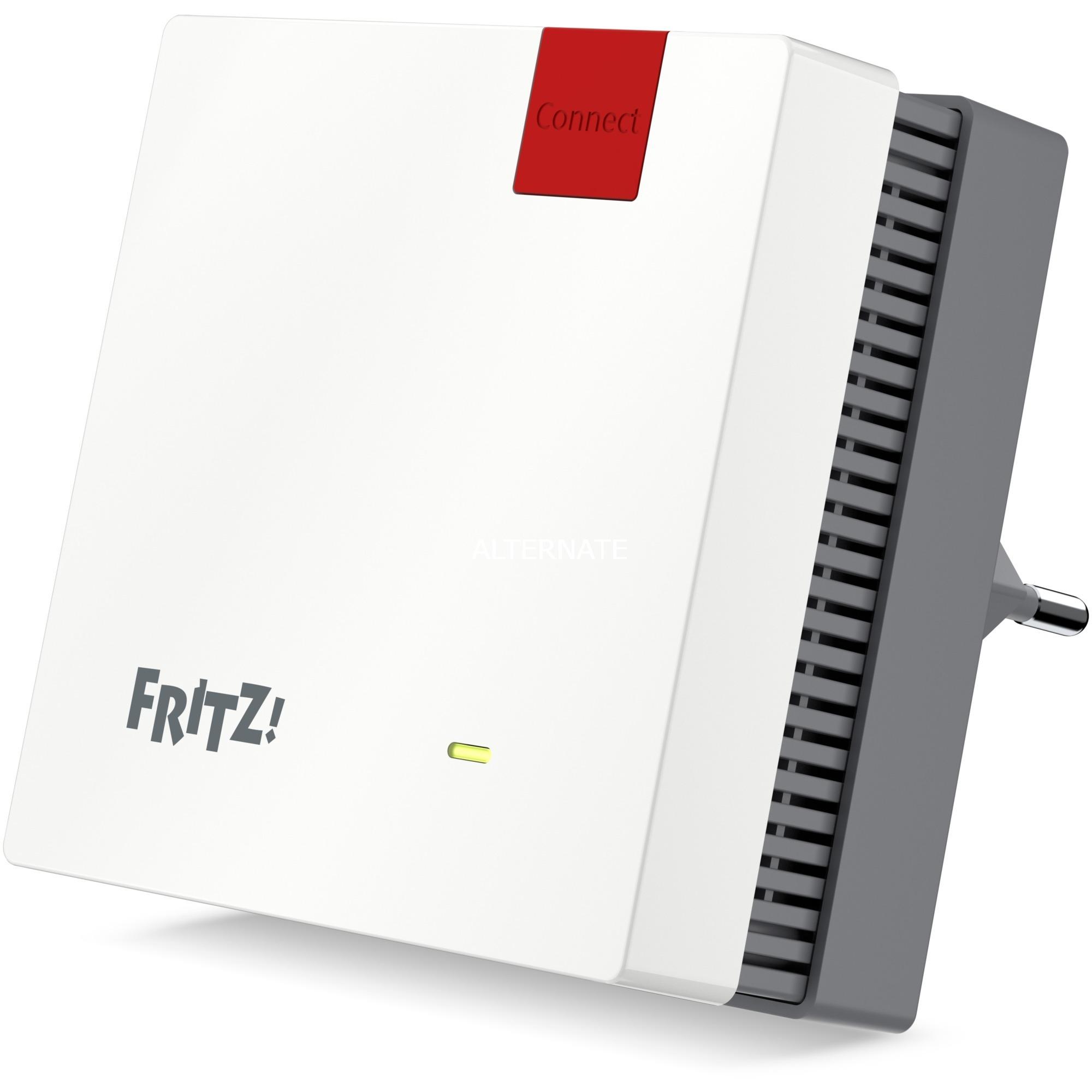 FRITZ!Repeater 1200 punto de acceso WLAN 866 Mbit/s Blanco, Repetidor