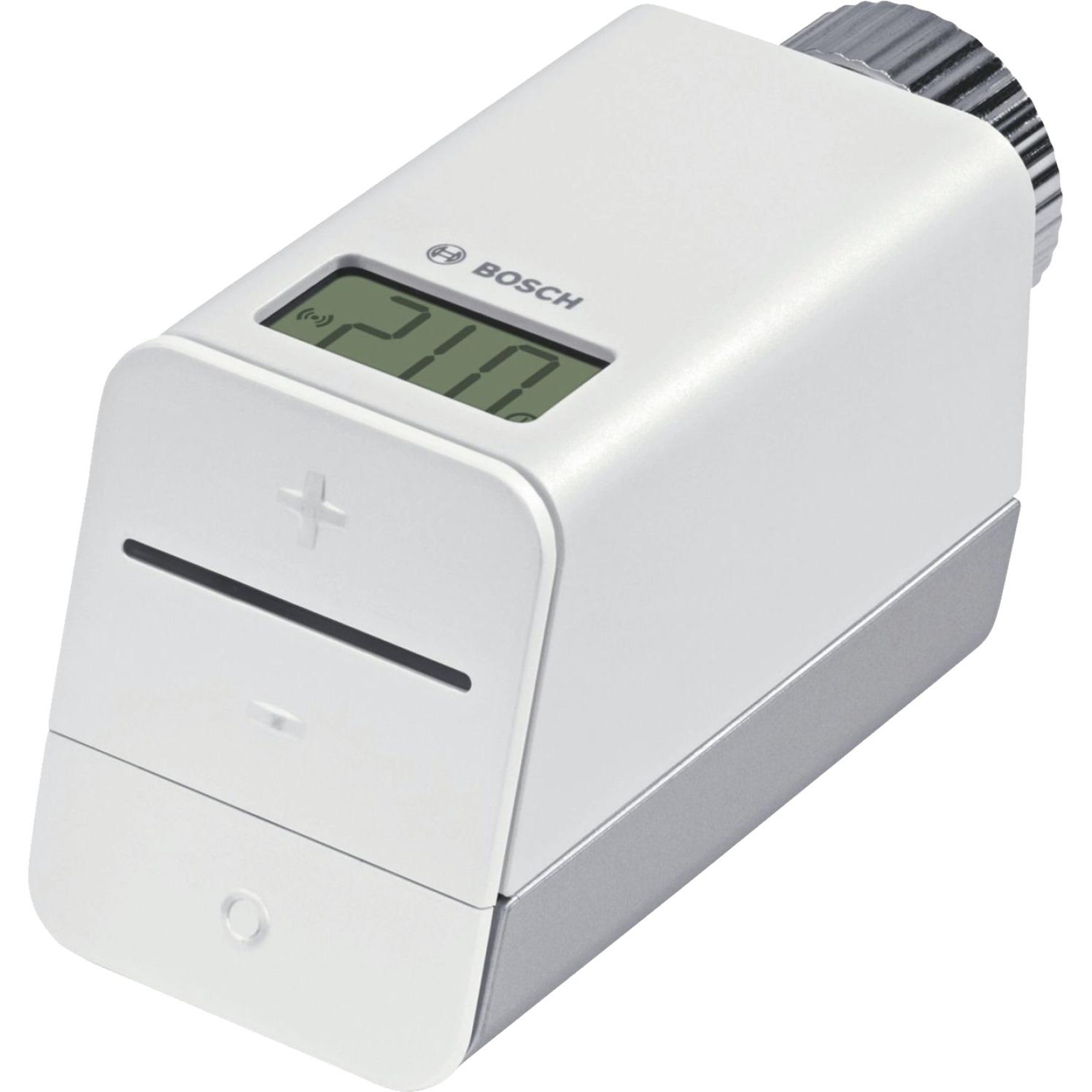 8 750 000 002 RF Gris, Color blanco termoestato, Termostato de la calefacción