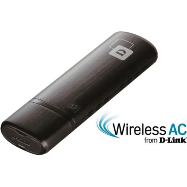 AC1200 WLAN 867Mbit/s, Adaptador Wi-Fi