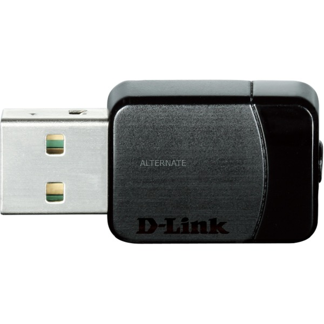 AC750 WLAN 433Mbit/s adaptador y tarjeta de red, Adaptador Wi-Fi