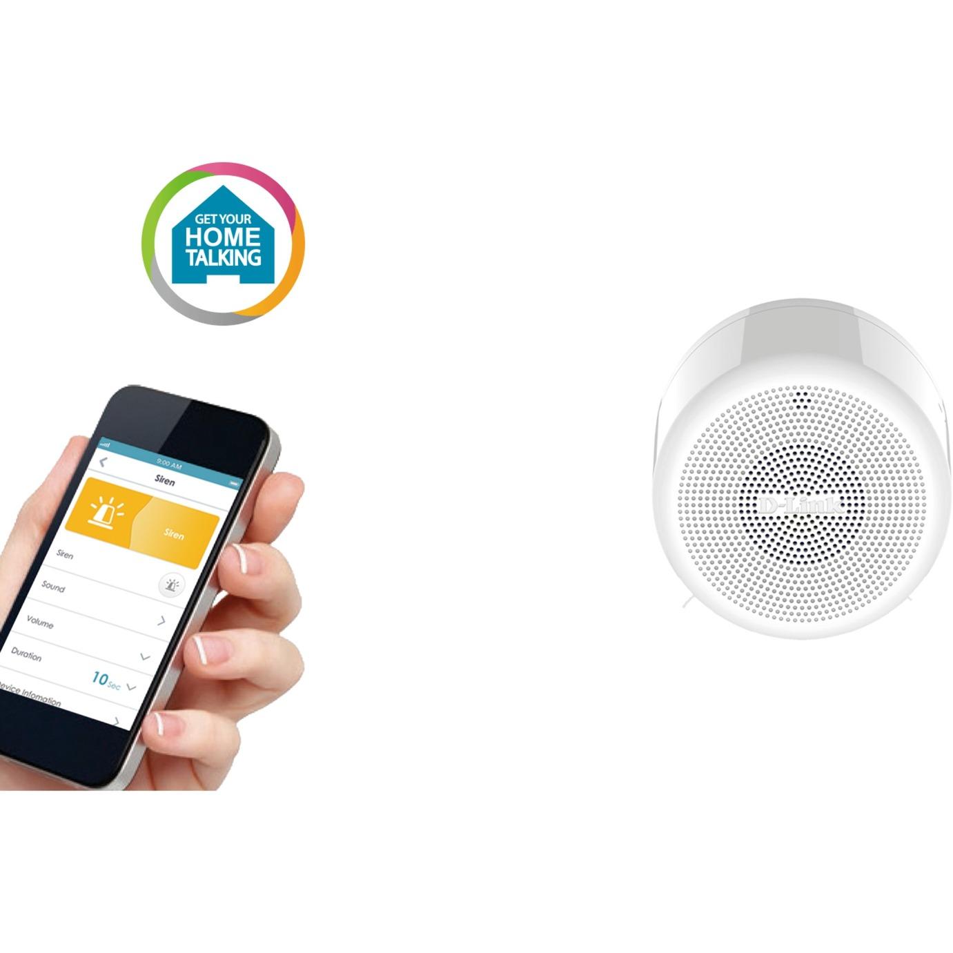 DCH-S220 Wireless siren Interior Blanco sirena