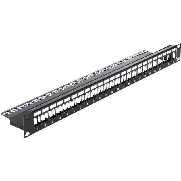 43277 panel de parcheo 1U, Patch Panel