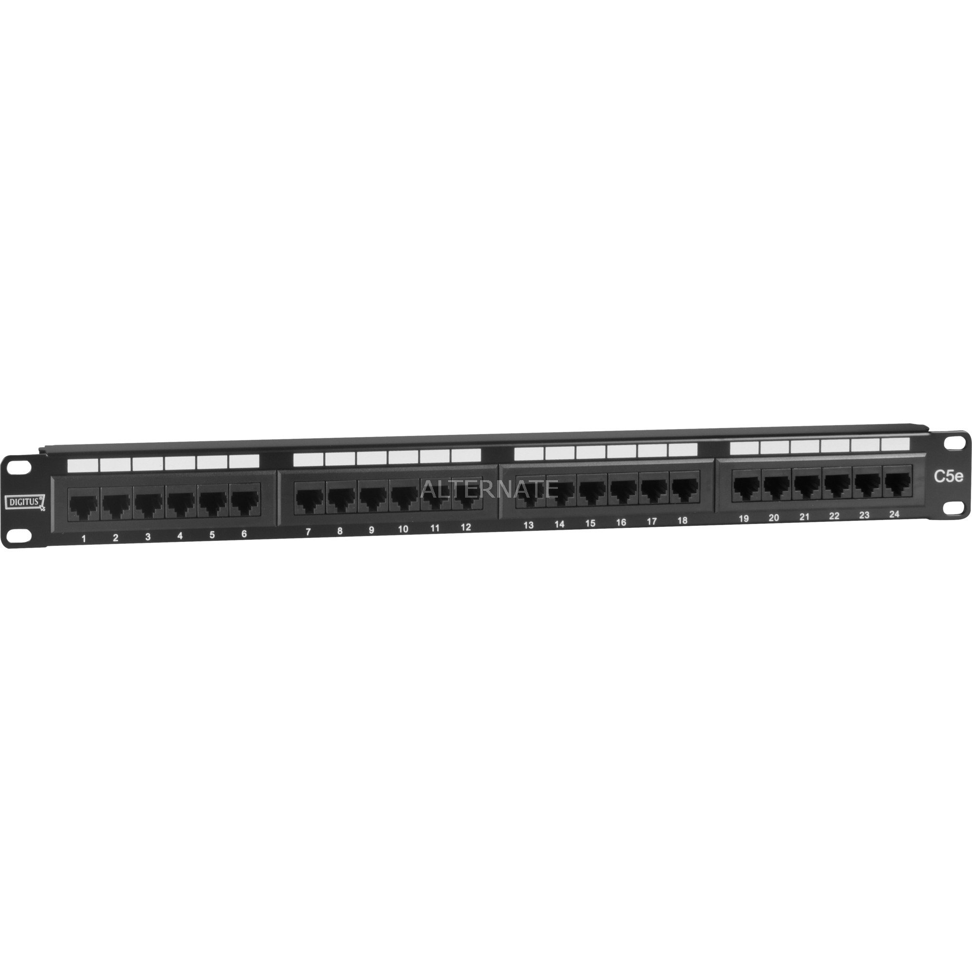 "19"" CAT 5e patch panel"