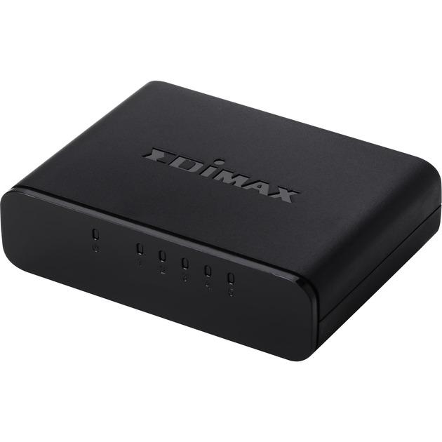 ES-3305P switch No administrado Negro, Interruptor/Conmutador