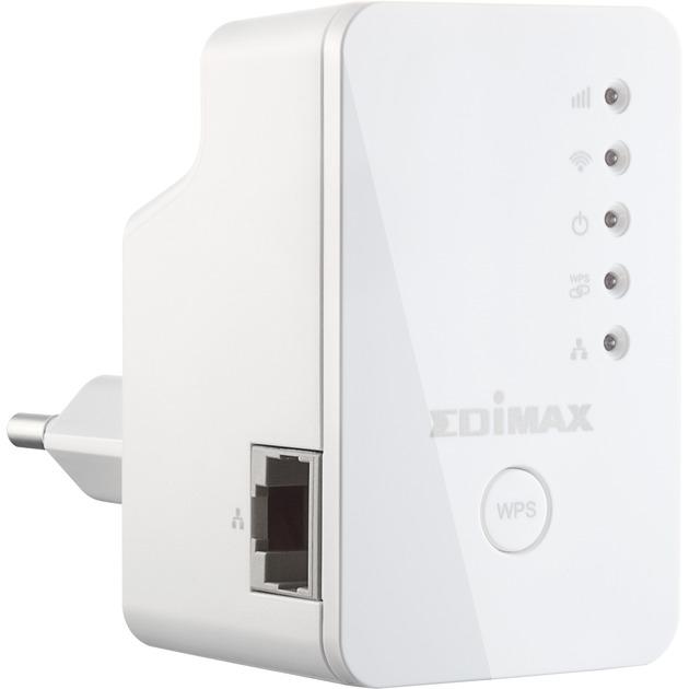 EW-7438RPn Mini Network transmitter Color blanco, Repetidor