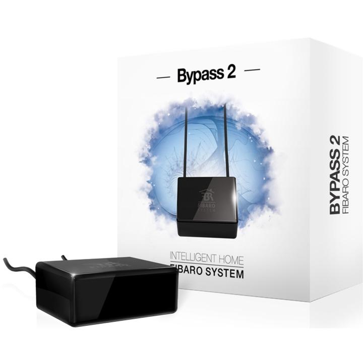 Dimmer Bypass 2 Regulador de intensidad Integrado Negro, Interruptor con regulador de voltaje