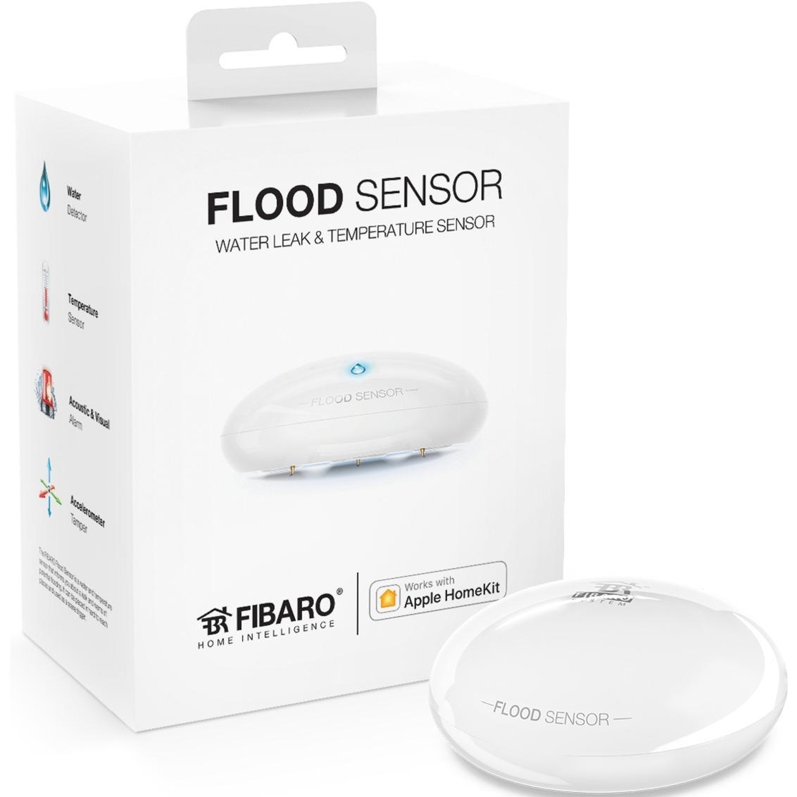 FGBHFS-101 mulltisensor smart home Inalámbrico Bluetooth, Detectores de agua