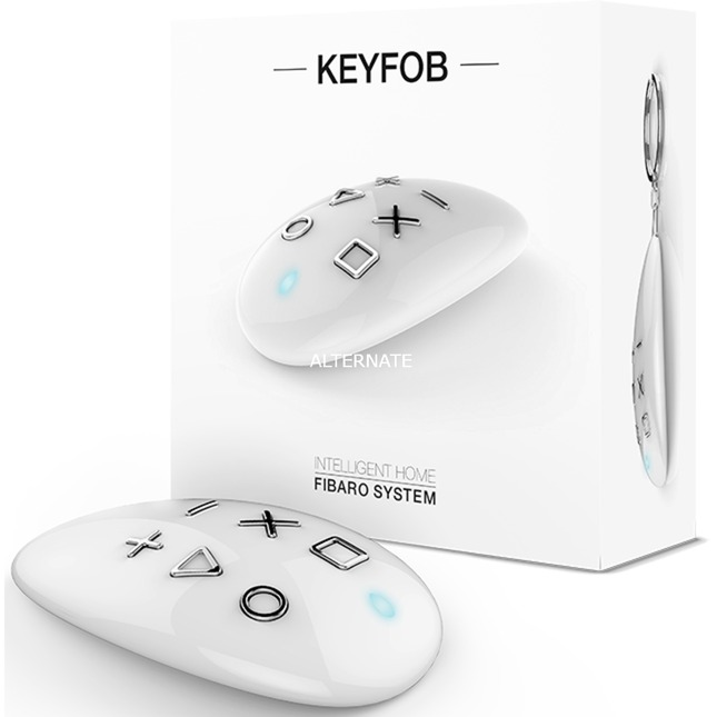 KeyFob regulador inteligente de luz Inalámbrico Blanco, Control remoto