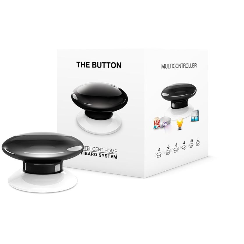 The Button Black Botón de alarma de pánico Inalámbrico, Interruptor