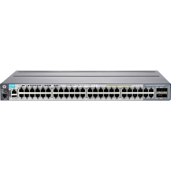 2920-48G-POE+ Managed network switch L3 Gigabit Ethernet (10/100/1000) Energía sobre Ethernet (PoE) Gris, Interruptor/Conmutador