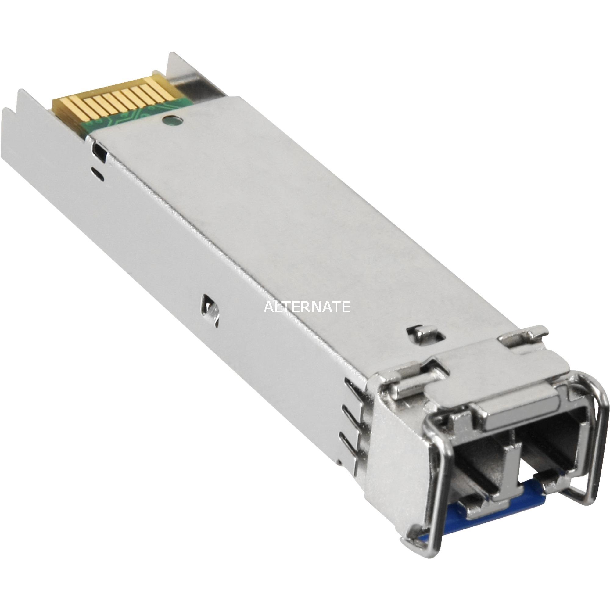 X121 Fibra óptica 1310nm 1000Mbit/s SFP red modulo transceptor