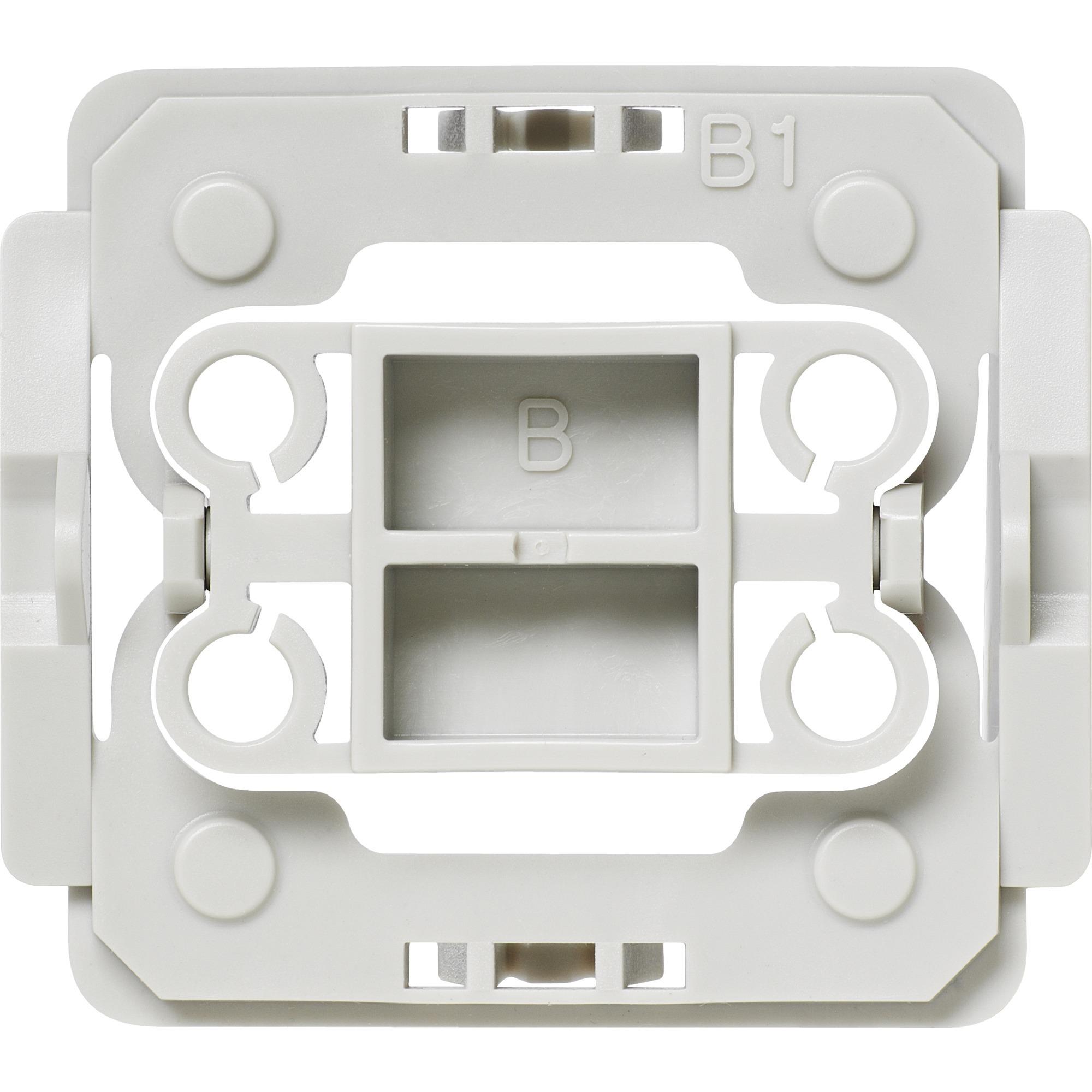 EQ3-ADA-B1 Atenuador e interruptor Integrado Blanco, Adaptador