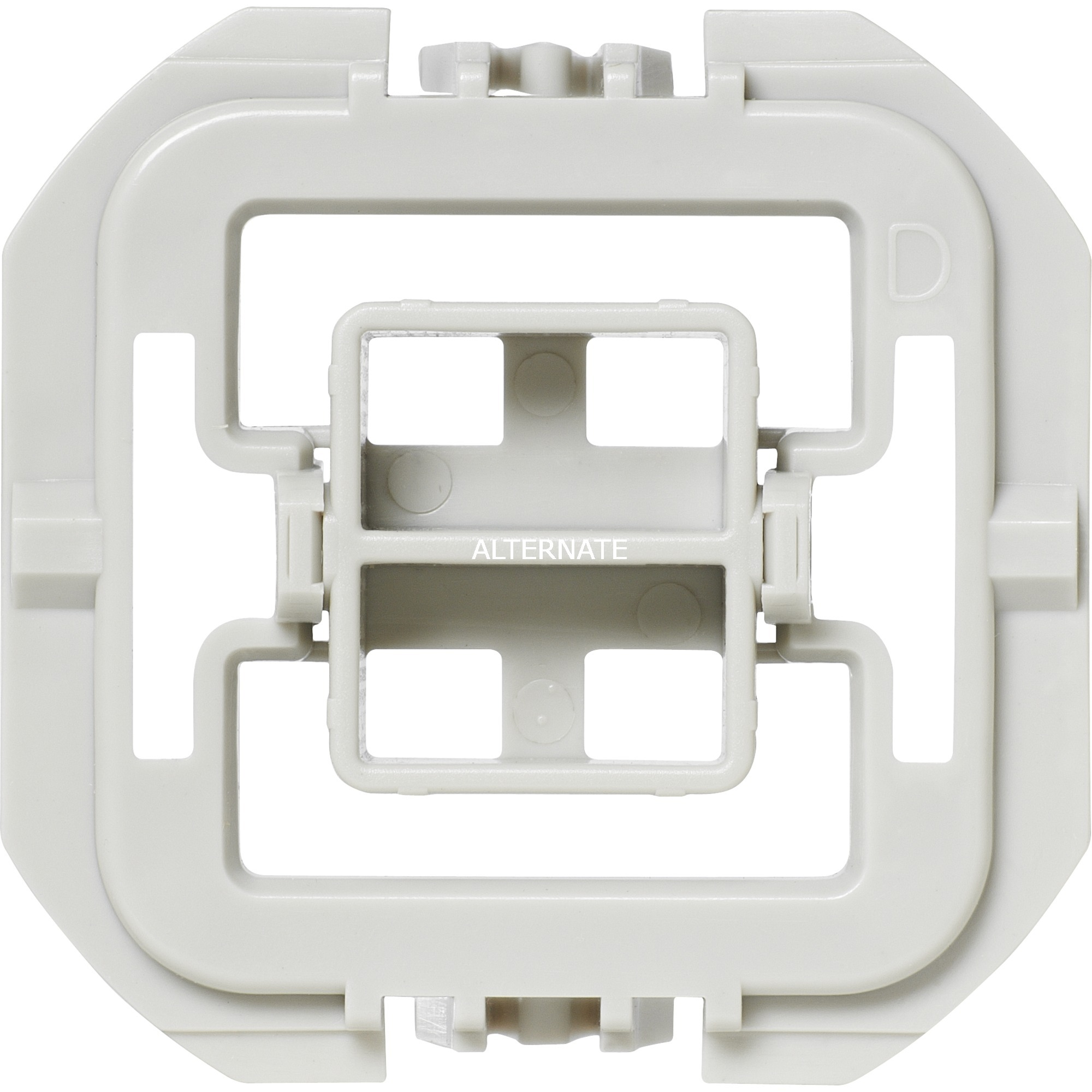 EQ3-ADA-DW Atenuador e interruptor Integrado Blanco, Adaptador