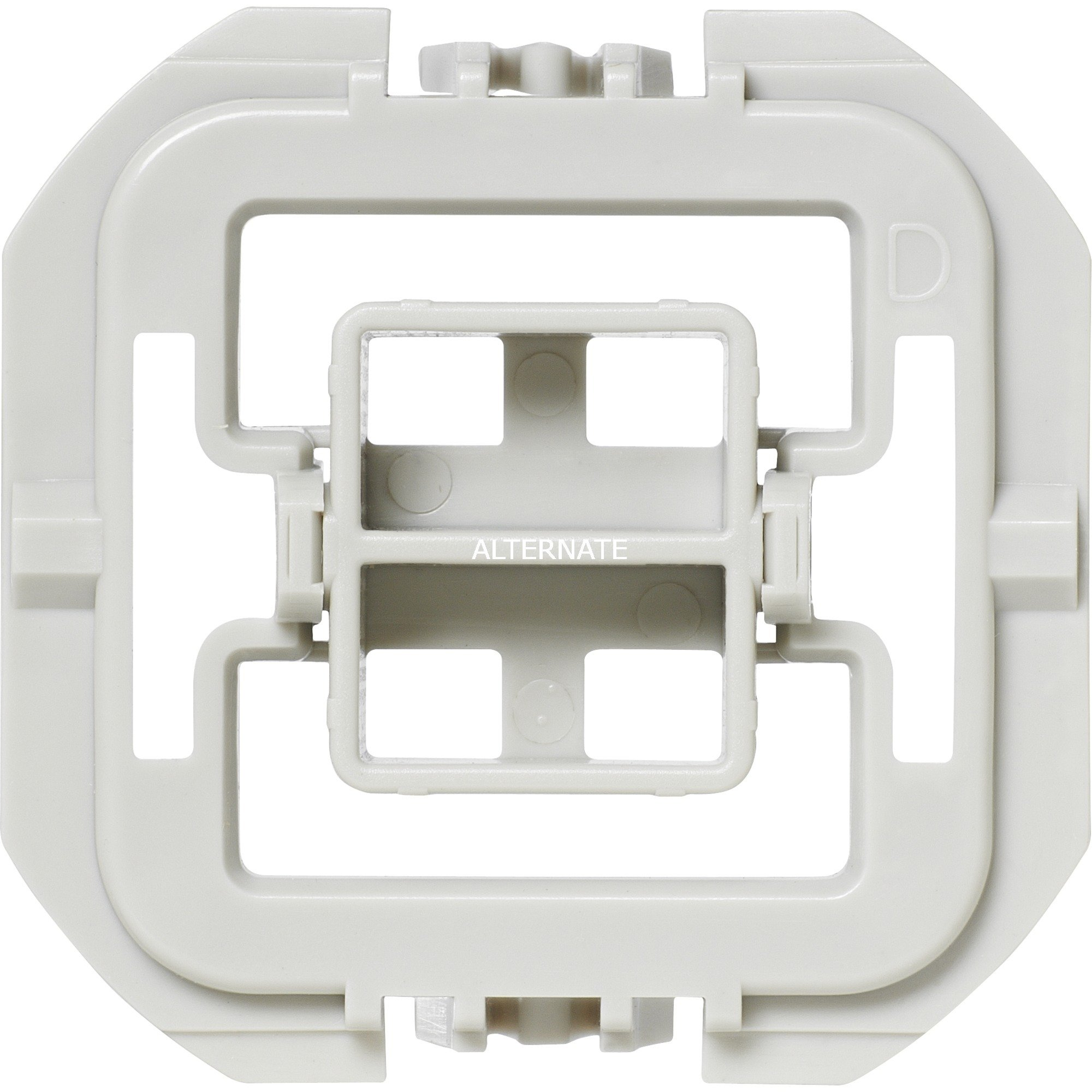 EQ3-ADA-DW Integrado Atenuador e interruptor Blanco, Adaptador