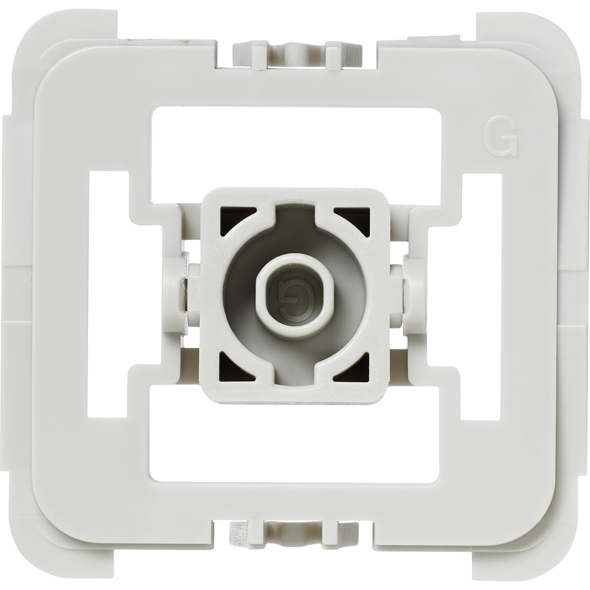 EQ3-ADA-G55 Integrado Atenuador e interruptor Blanco, Adaptador