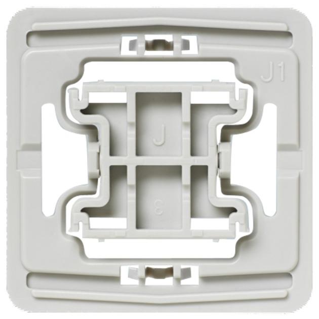 EQ3-ADA-J1 Atenuador e interruptor Integrado Blanco, Adaptador