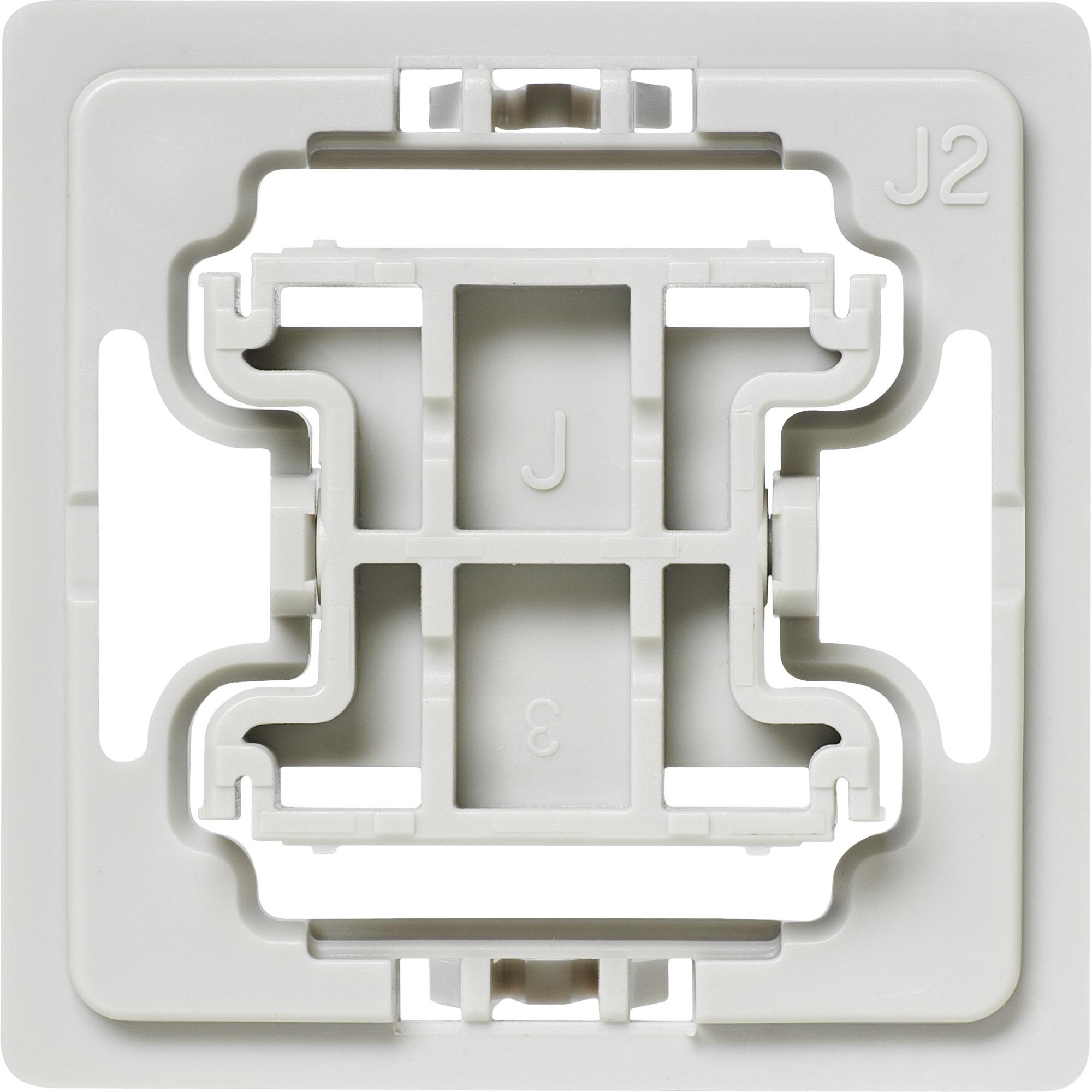 EQ3-ADA-J2 Atenuador e interruptor Integrado Blanco, Adaptador