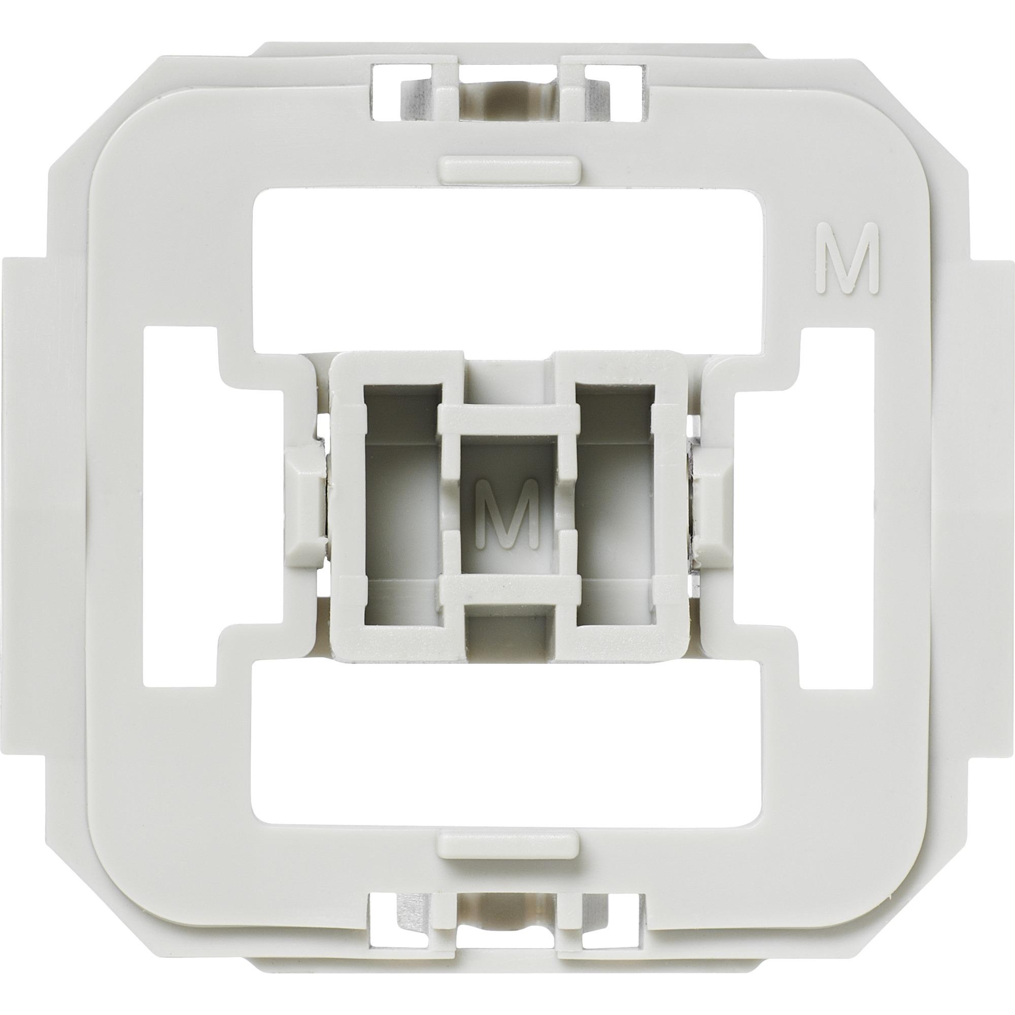 EQ3-ADA-ME Atenuador e interruptor Integrado Blanco, Adaptador