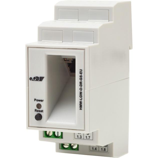 HMW-LGW-O-DR-GS-EU Blanco alimentación del relé, Central