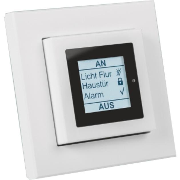 HM-Dis-EP-WM55 Color blanco regulador inteligente de luz, Panel de control