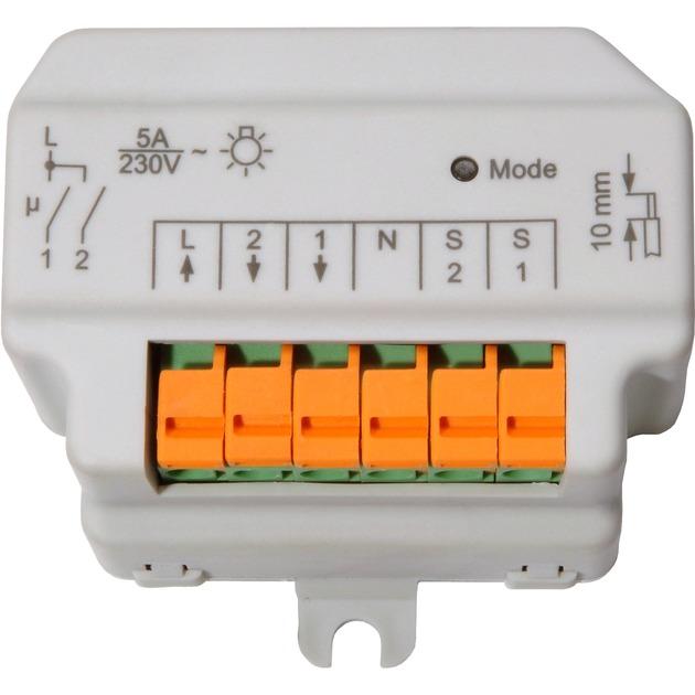HM-LC-Sw2-FM IP20 Blanco solenoide eléctrico, Interruptor