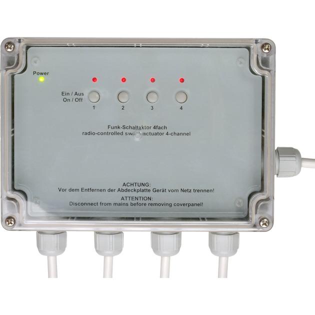 HM-LC-Sw4-SM alimentación del relé, Interruptor