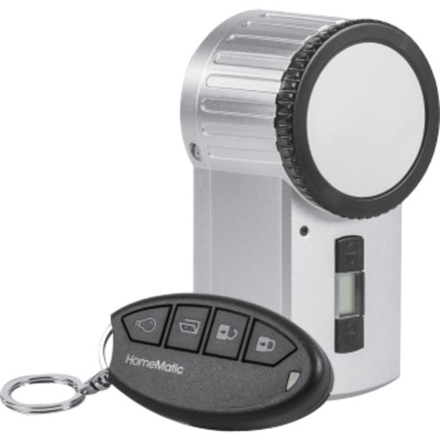 HM-Sec-Key-S sensor de puerta / ventana Inalámbrico Plata, Motor para puerta