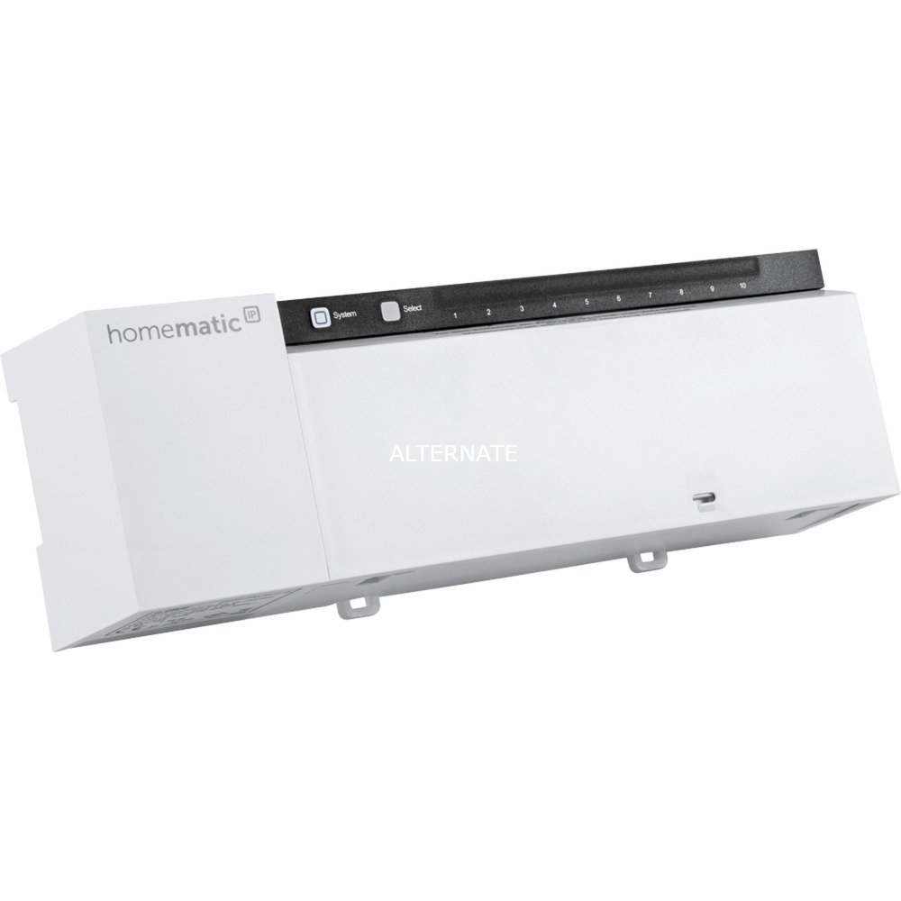 142981A0 accionador smart home Regulador de temperatura 10 canales, Panel de control