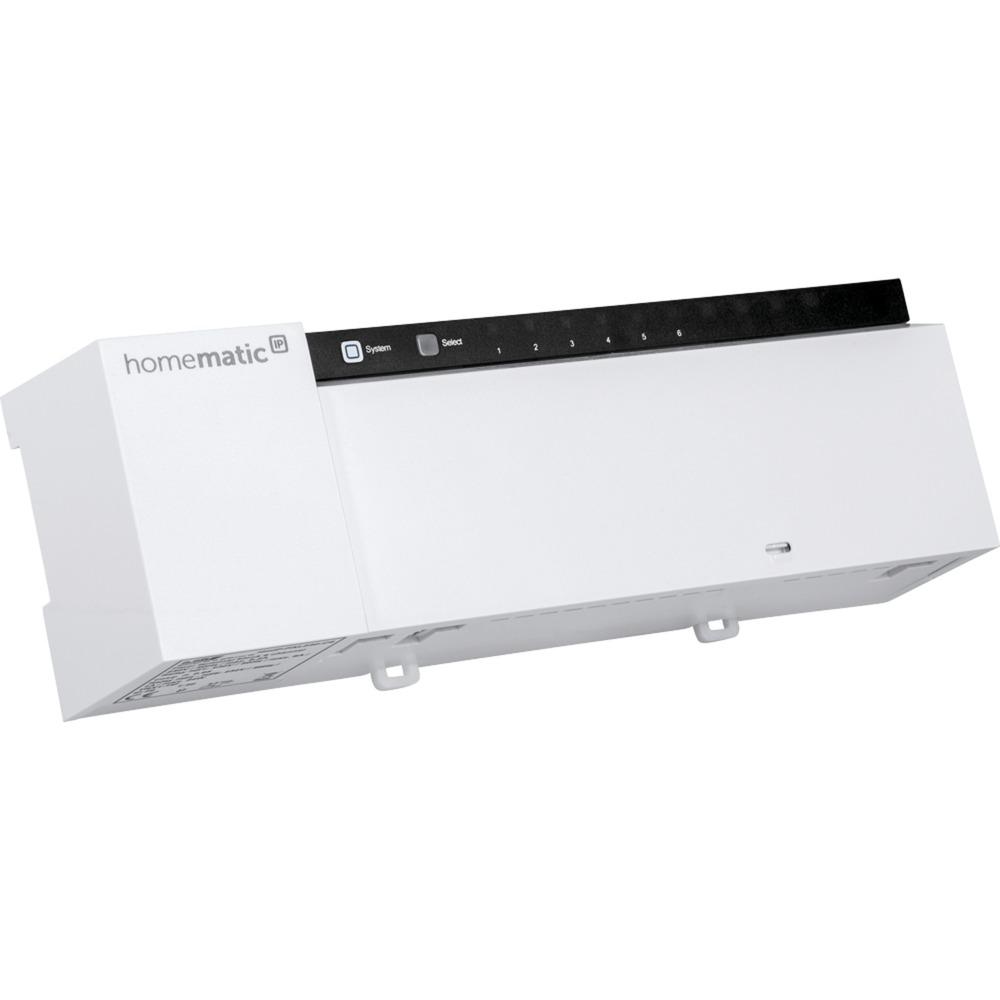 143237A0 Regulador de temperatura 6channels accionador smart home, Panel de control