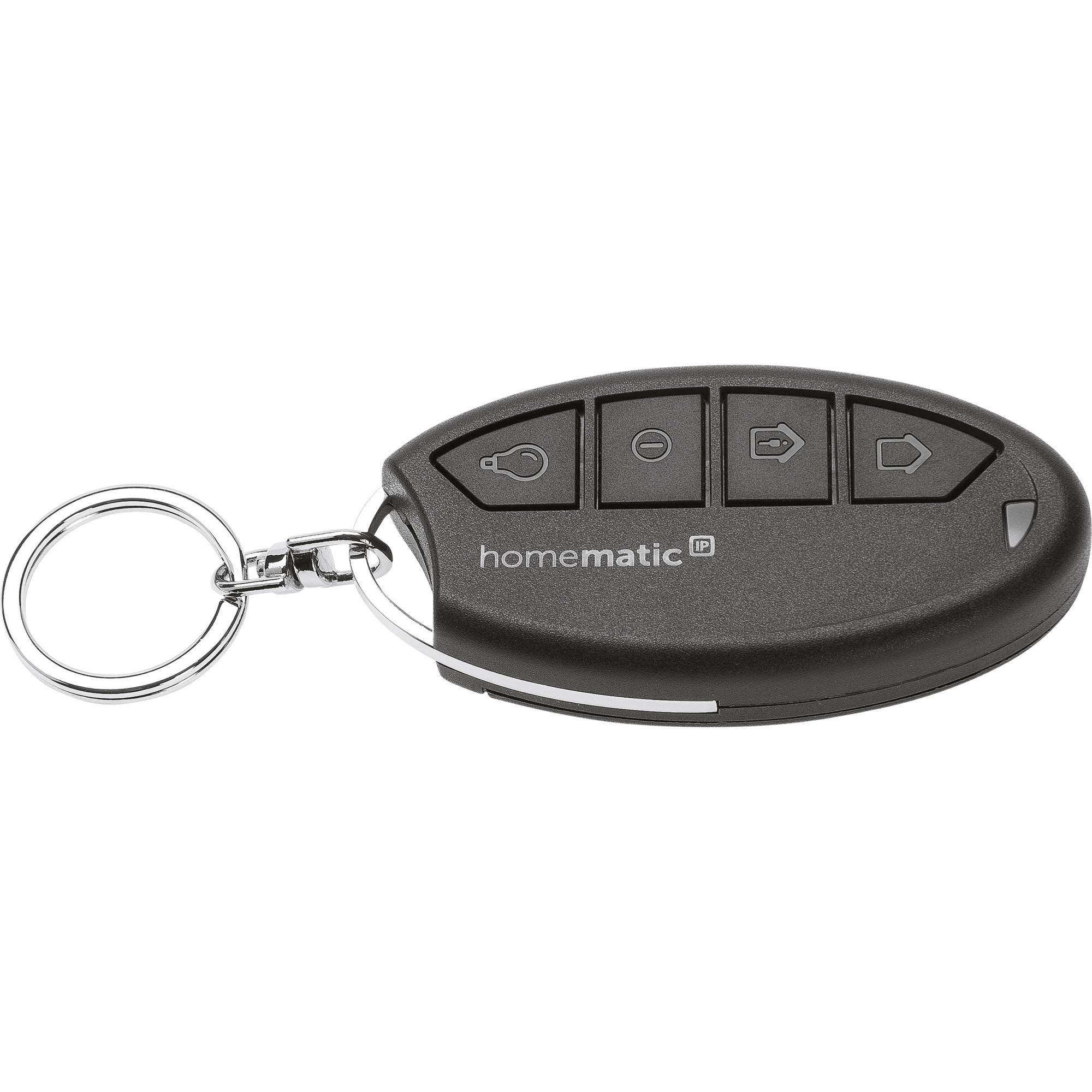 HmIP-KRCA mando a distancia RF inalámbrico Negro Botones