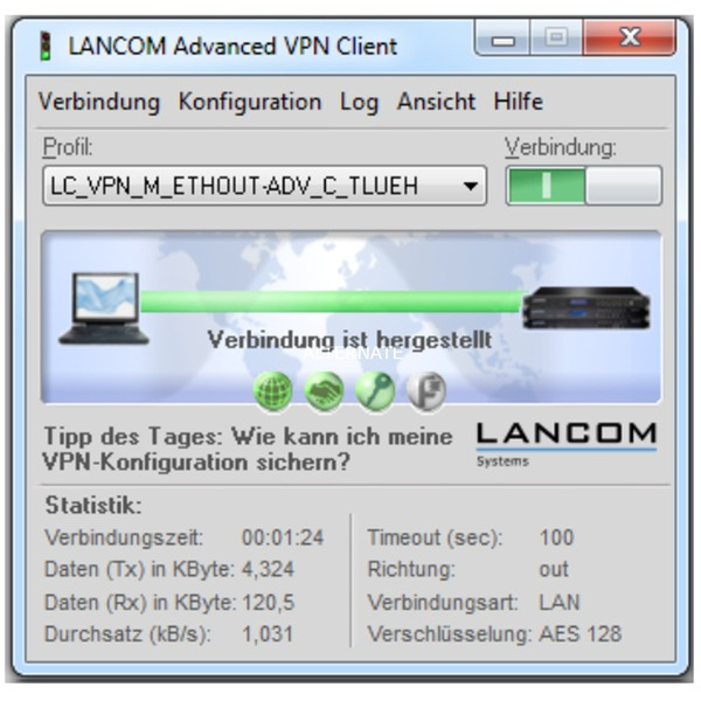 Advanced VPN Client (Windows), Licencias de servidor