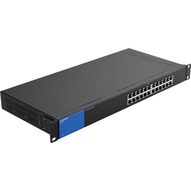Conmutador Gigabit con 24 puertos (LGS124), Interruptor/Conmutador