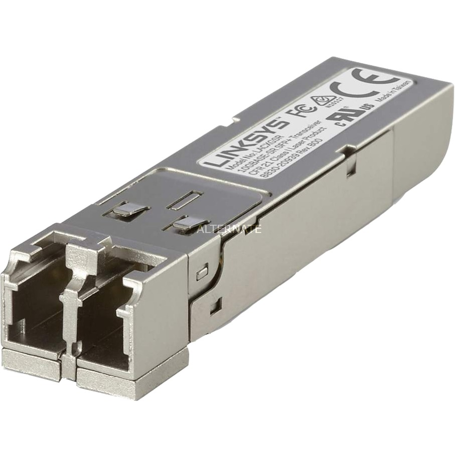 LACXGSR Fibra óptica 850nm 10000Mbit/s SFP+ red modulo transceptor