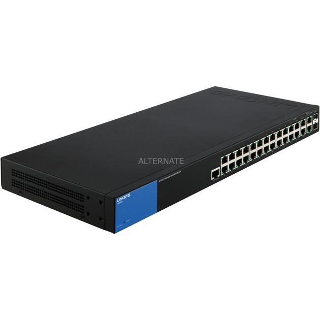 Switch Gigabit administrado de 28 puertos (LGS528), Interruptor/Conmutador