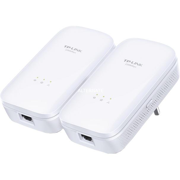 AV1200 1200Mbit/s Ethernet Blanco 2pieza(s), PowerLAN