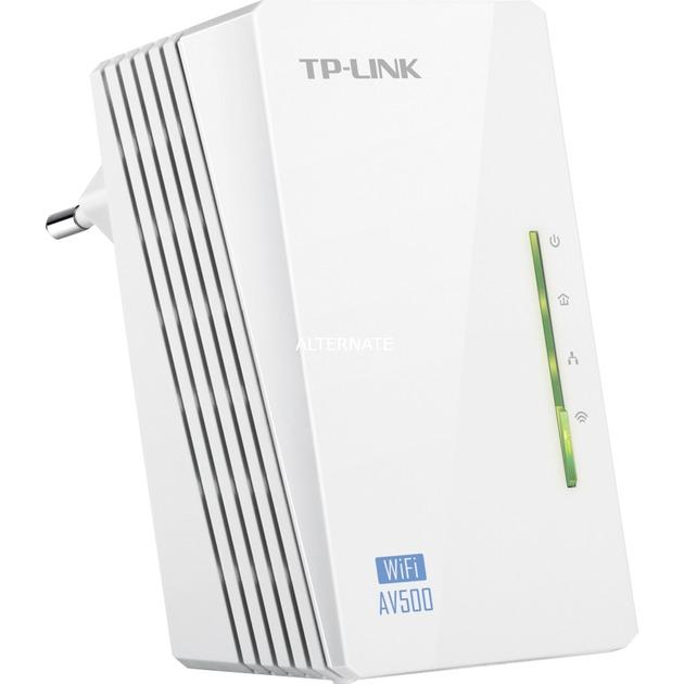 TL-WPA4220 adaptador de red powerline 500 Mbit/s Ethernet Wifi Blanco 1 pieza(s), PowerLAN