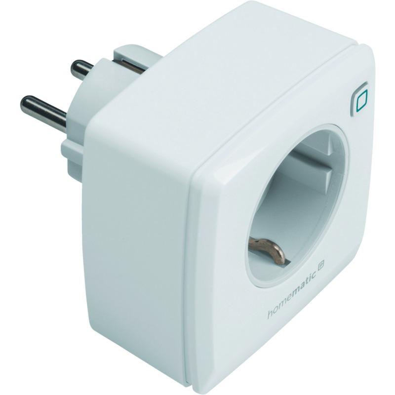 40296225 Blanco enchufe inteligente, Toma de corriente con interruptor