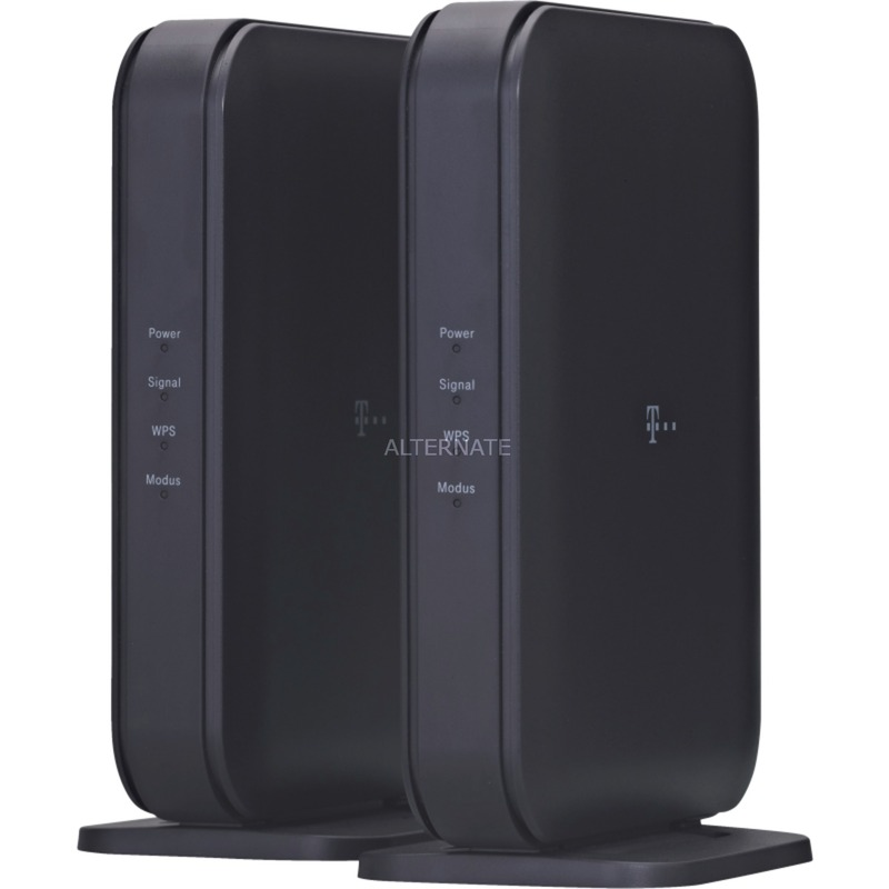 Speed Home Bridge 1733 Mbit/s Puente wifi Negro