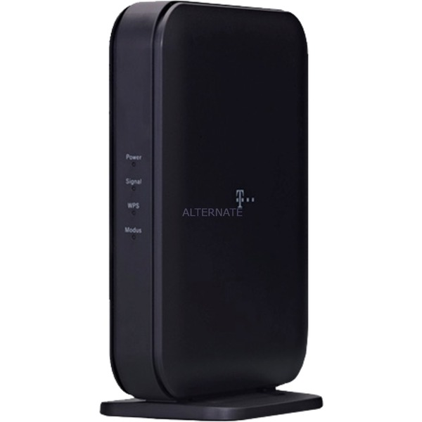 Speed Home Bridge Solo 1733 Mbit/s Puente wifi Negro, Punto de acceso