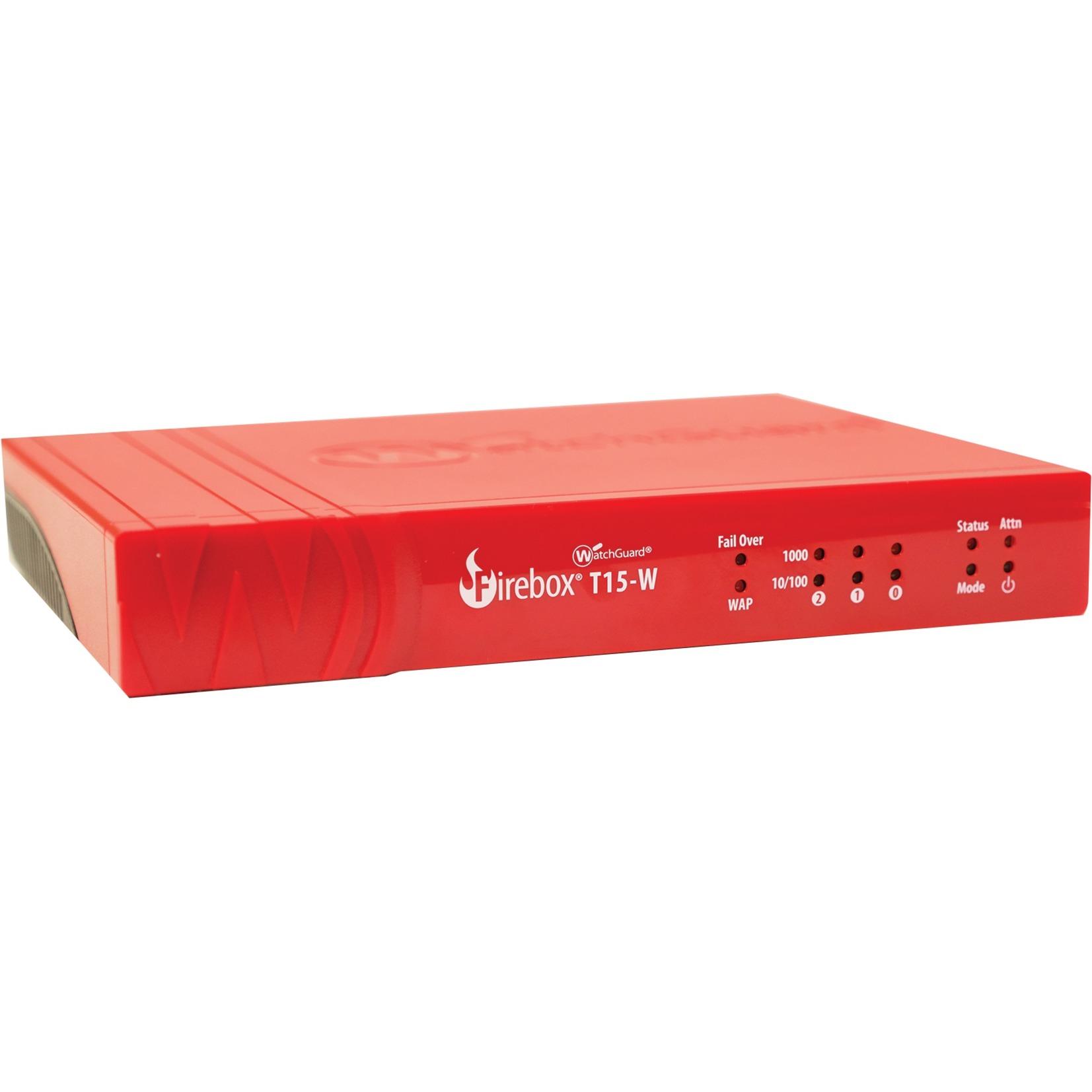 Firebox WGT16031-WW cortafuegos (hardware) 400 Mbit/s