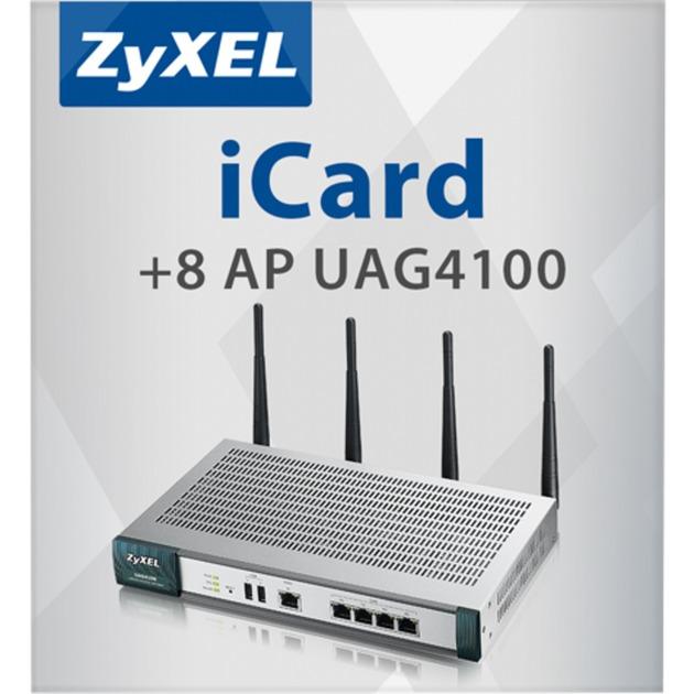 E-ICARD 8 AP UAG4100, Licencia