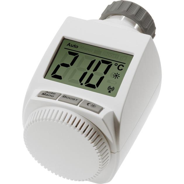 BC-RT-TRX-CyG-3 Blanco termoestato, Termostato de la calefacción